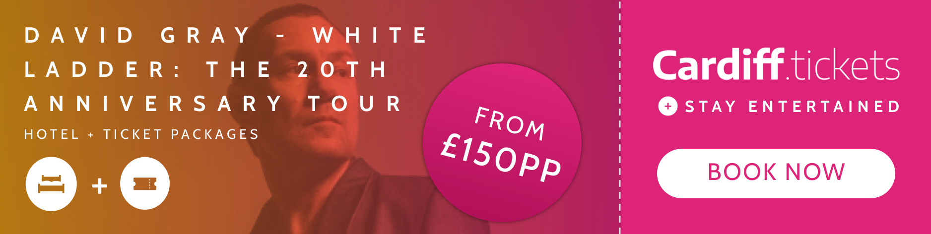 David Gray - White Ladder: the 20th Anniversary Tour tickets and hotel package