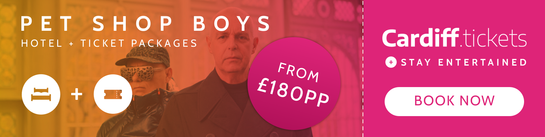 Pet Shop Boys tickets and hotel package